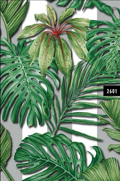 Wall212 2601 Tropikal Yaprak Desen Duvar Kağıdı 5,00 M²