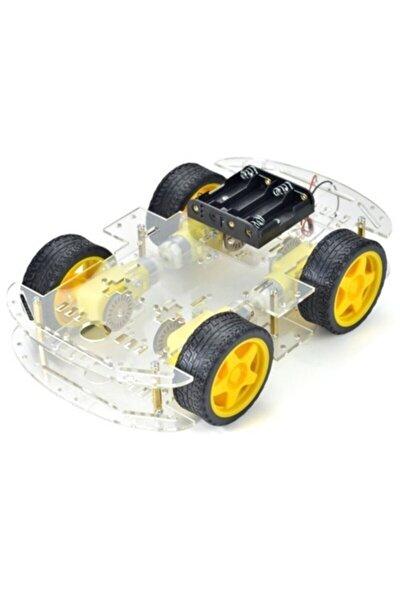 4wd Robot Araba Platform-4wd Smart Car