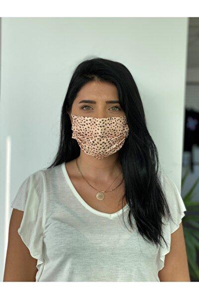 3 Katlı Burun Telli Meltblown Ara Katman Desenli Baskılı Maske 10 Adet