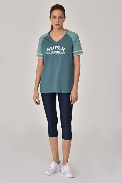 Turkuaz Kadın T-Shirt GS-8616