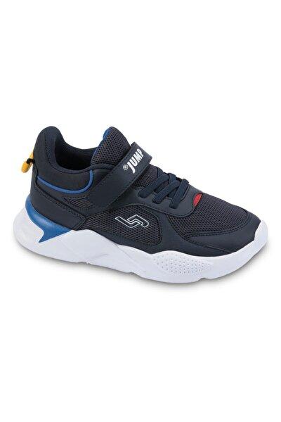 Unisex Çocuk Lacivert Royal Mavi Kırmızı Sarı Spor Ayakkabı