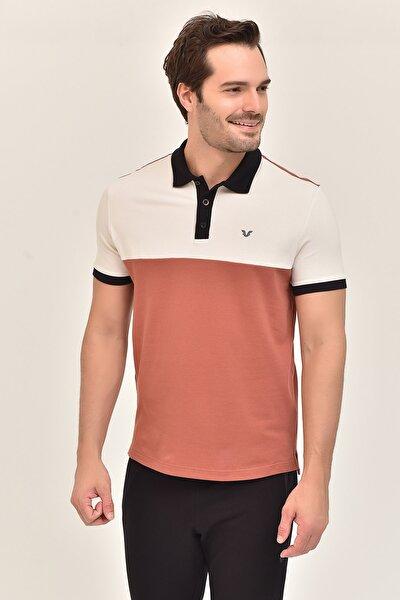 Kahverengi Erkek Büyük Beden T-Shirt GS-8981