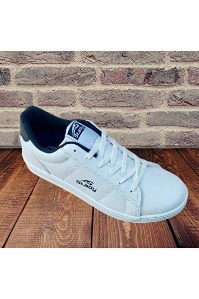 Unisex Beyaz Günlük Spor Yürüyüş Ayakkabısı