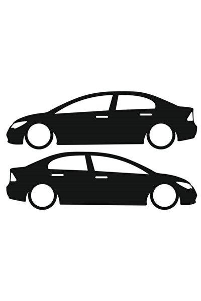 Honda Cıvıc Basık Araç Sticker