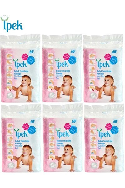 Bebek Temizleme Pamuğu 360 Adet (6pk*60)