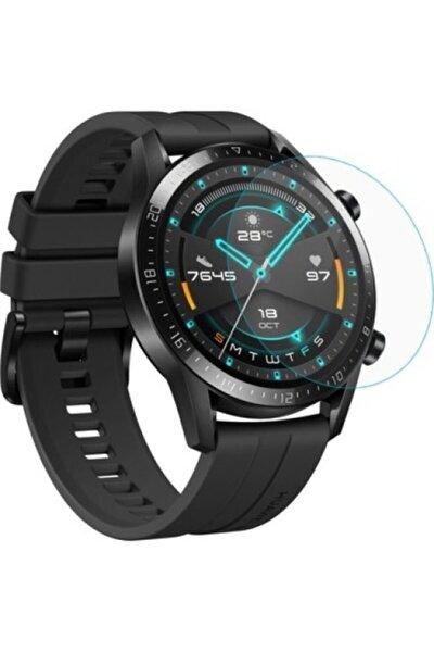 Huawei Watch Gt 2 46 Mm Mat Parmak Izi Bırakmayan Ekran Koruyucu Esnek Nano Cam