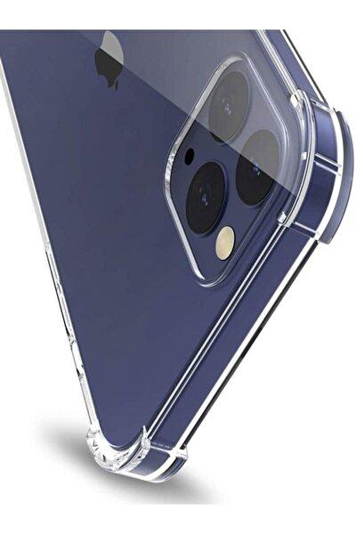 "Apple Iphone 12 Pro 6.1"" Köşe Korumalı Sert Silikon Kapak ose-001"