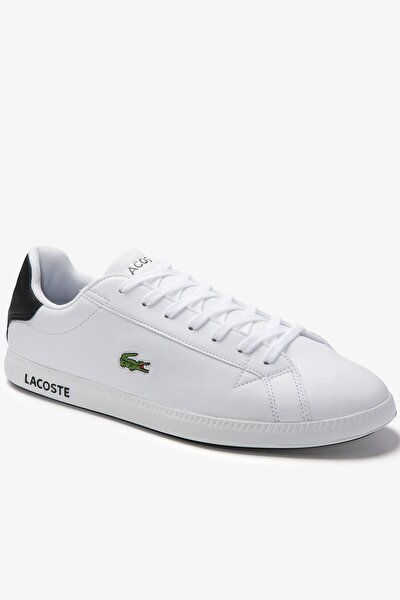 Graduate 0120 2 Sma Erkek Beyaz - Siyah Sneaker 740SMA0075