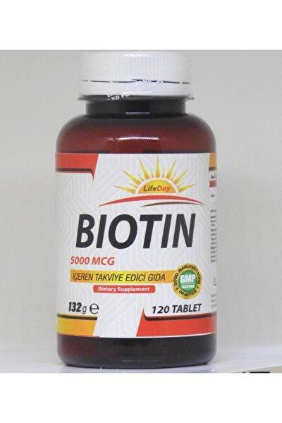 Biotin 120 Tablet 5000 mcg