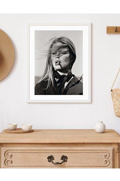 Brigitte Bardot Çerçeveli Modern Poster Tablo