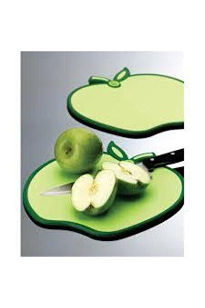 Yeşil Elma Şeklinde Kesme Tahtası