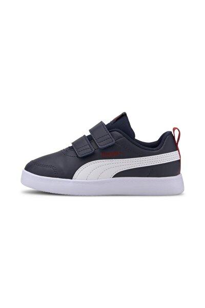 COURTFLEX V2 V PS Lacivert Erkek Çocuk Sneaker Ayakkabı 101085088