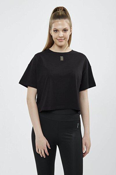Leopar Baskılı Bayan T-shirt