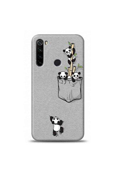 Xiaomi Redmi Note 8 Uyumlu Panda Tasarımlı Telefon Kılıfı Y-kdi015