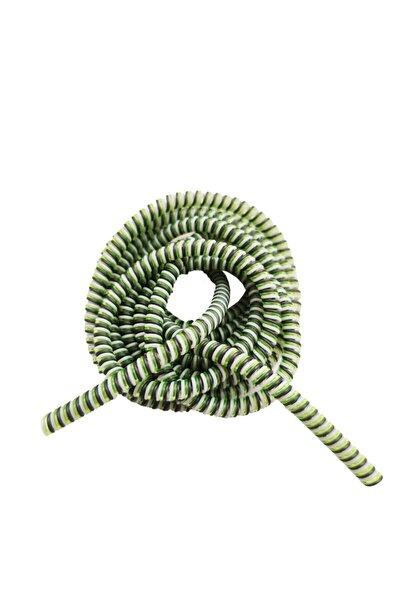 Spiral Sarmal Kablo Koruyucu Yeşil Şarj&Kulaklık Kaplama Düzenleyici Kılıf