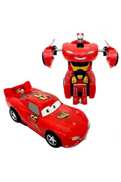 Şimşek Mcqueen Robota Dönüşebilen Araba