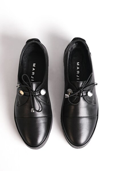 Kadın Hakiki Deri Comfort Ayakkabı Demassiyah