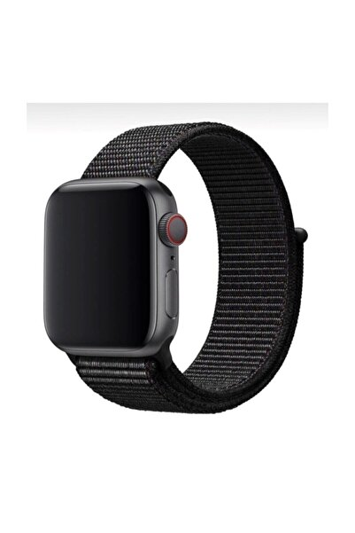 Apple Watch 1-2-3-4-5-6-se Serisi 42mm - 44mm Uyumlu Spor Kumaş Kordon