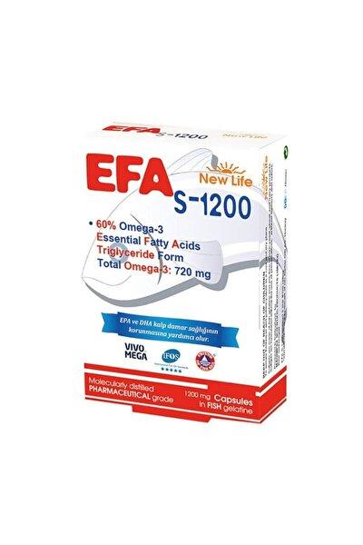 Efa S-1200 Balık Yağı Içeren Takviye Edici 90 Kapsül