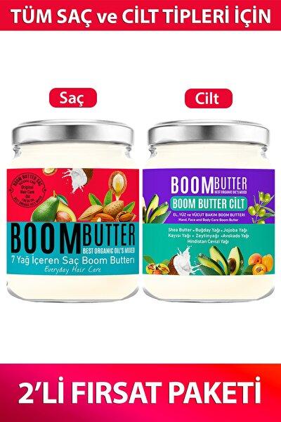 Boom Butter Saç ve Cilt Bakım Paketi 8682427005473