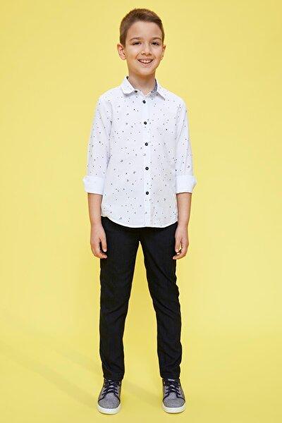 Erkek Çocuk Slim Fit Dokuma Pantolon M4705A620SP