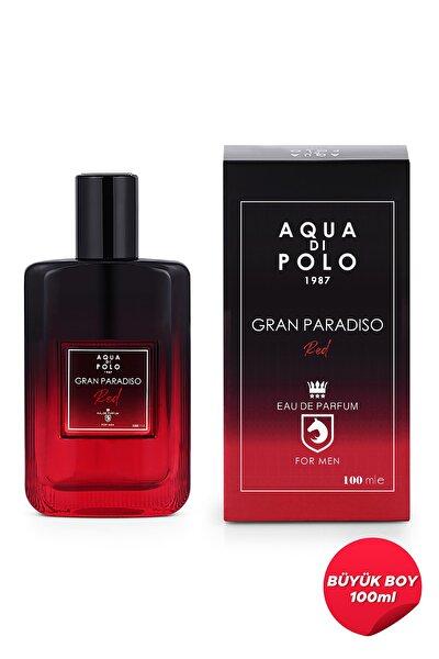 Gran Paradiso Red Edp 100 ml Erkek Parfümü  Apcn001803