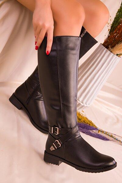 Siyah Kadın Çizme 14220