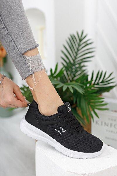 Siyah Beyaz Unisex Sneaker 0012065