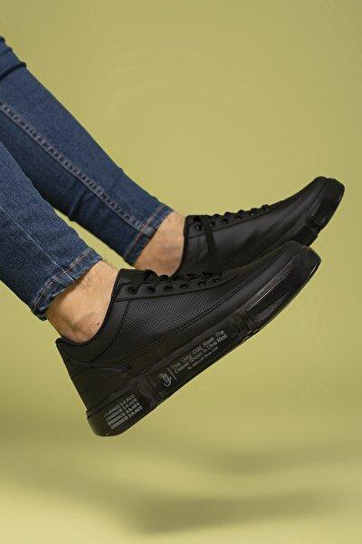Siyah Erkek Sneaker 0012X20