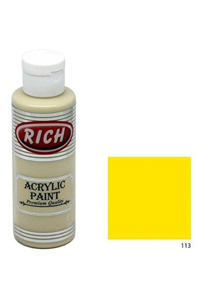Master Akrilik Boya 120 Cc. 113 Güneş Sarı