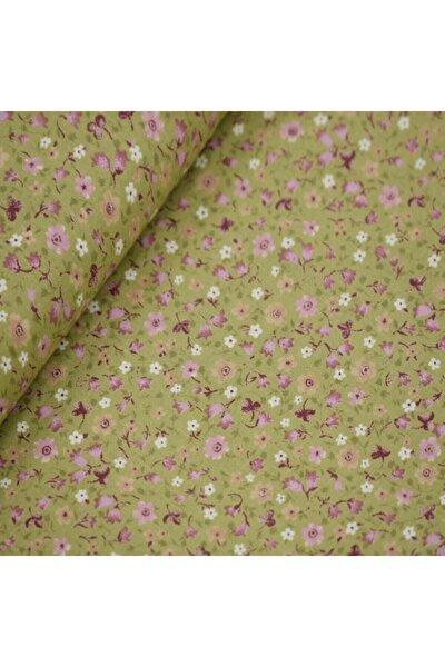 170 Cm Eninde Çiçekli Poplin Kumaş