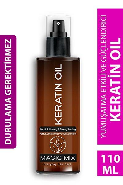 Magıc Mıx Aşırı Yıpranmış Saçlar Için Keratin Yağı 110 ml