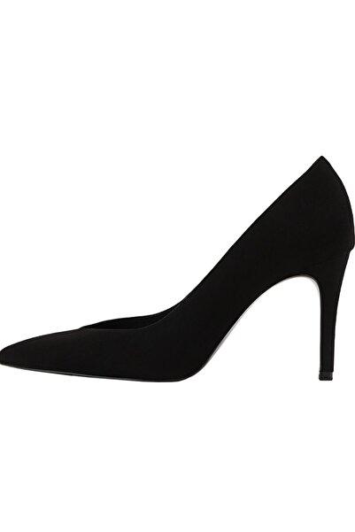 Kadin Siyah Ince Topuklu Ayakkabı