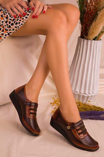 Kahve Kadın Casual Ayakkabı 15489