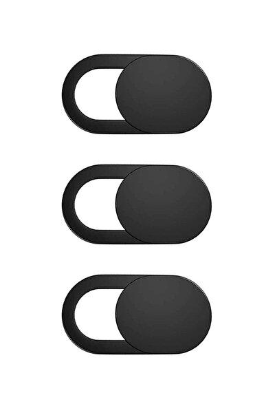 Pratik Ince Tablet Telefon Kamera Kapatıcı Laptop Webcam Cover Gizleyici 3 Adet