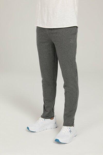 Sn89 Basıc Track Pants 1p Antrasıt Melanj Erkek Eşofman