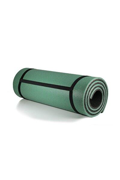Haki Pilates Minderi & Yoga Mat Çift Taraflı 10 mm