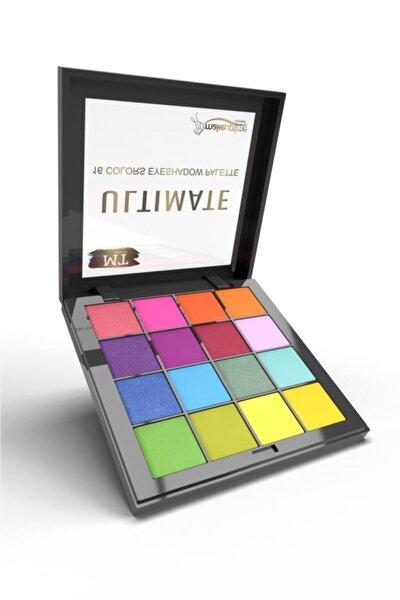 Ultimate 16'lı Far Paleti Yaz Renkleri No 02