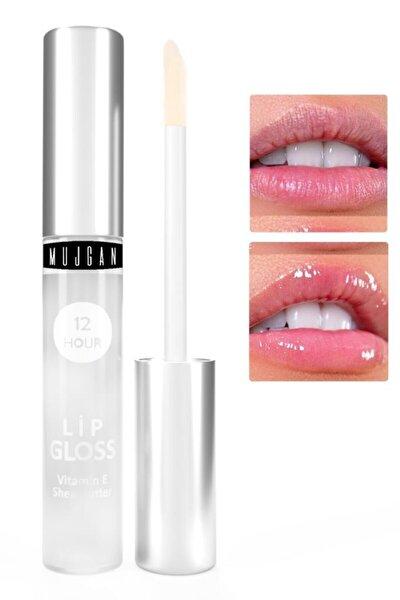 Dudak Bakım Nemlendiricisi Lip Gloss Vitamin E Şeffaf Ambalaj 4 ml