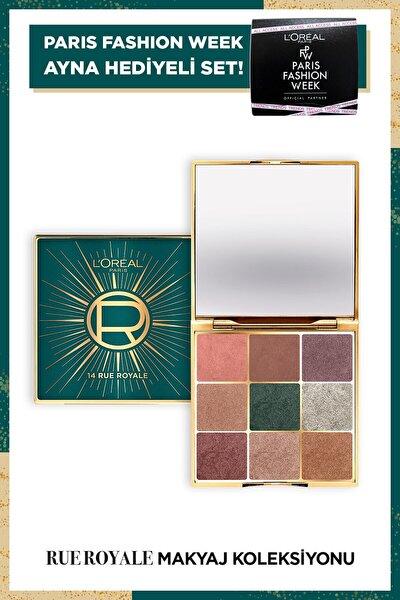 Rue Royal Makyaj Koleksiyonu - Far Paleti + Ayna
