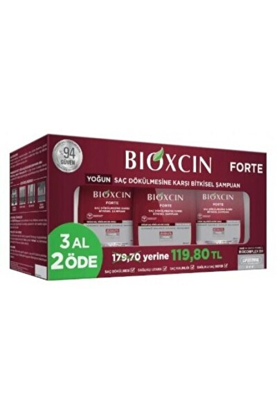 Forte Şampuan 300 ml  3 Al 2 Öde