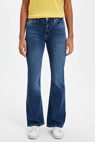 Kadın Mavi Fashion Fit Jean Pantolon R3491AZ.20SP.NM28