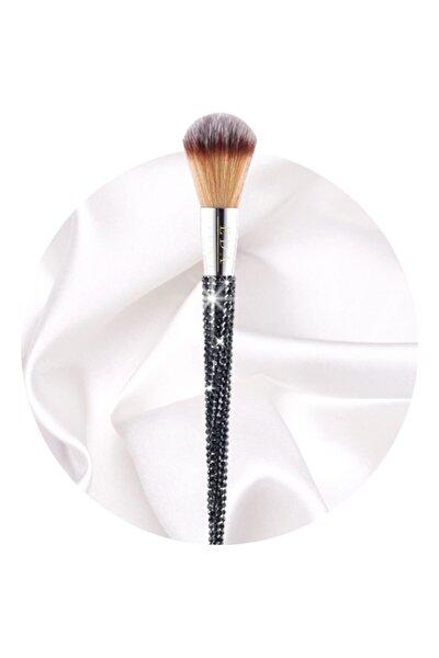 Çok Amaçlı Büyük Makyaj Fırçası Lüks Kristal Taşlı Bronzer Pudra Large Powder Makeup Brush
