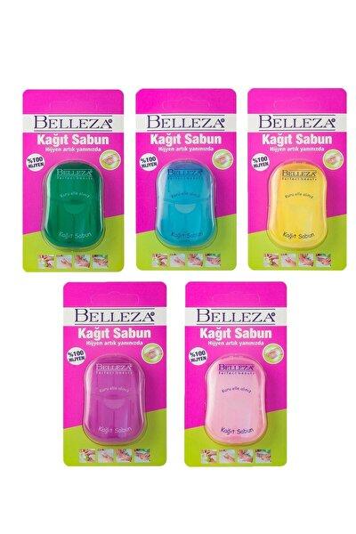 Belleza Kağıt Sabun 20li 5 Paket 100 Adet