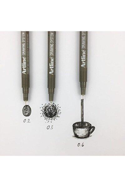 Drawing 3lü Set 0.2-0.3-0.6mm