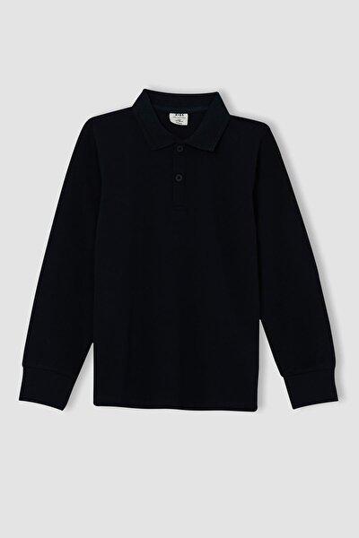Erkek Çocuk Uzun Kollu Polo Tişört