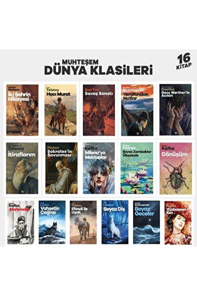 Muhteşem Dünya Klasikleri Seti - 16 Kitap