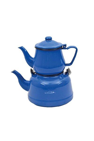 Ng 180k Campout Emaye Çaydanlık Set Mavi