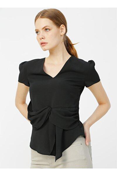Siyah Kadın Bluz
