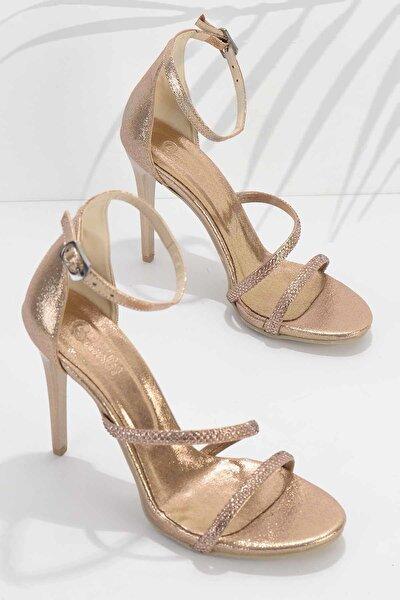 Rose Kadın Abiye Ayakkabı K01527250736